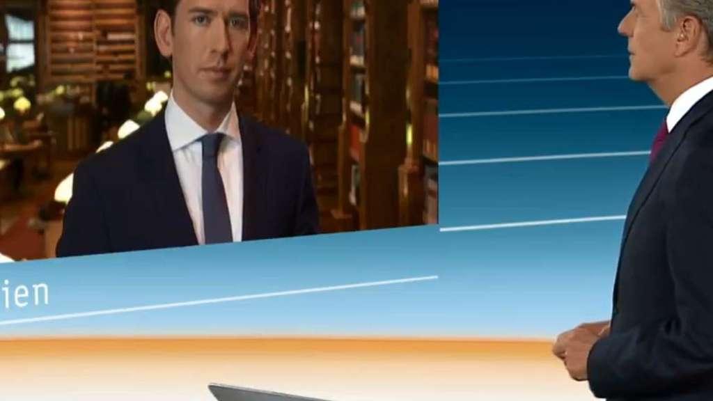 Österreich/ZDF: Kleber interviewt Sebastian Kurz - Zuschauer empört -