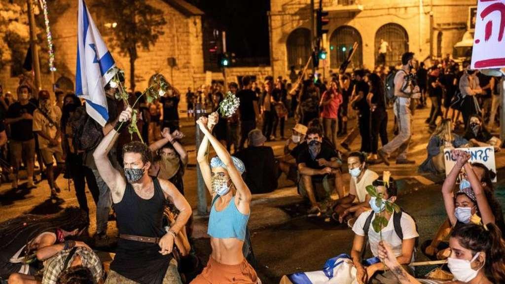 Festnahmen bei Demonstration in Jerusalem