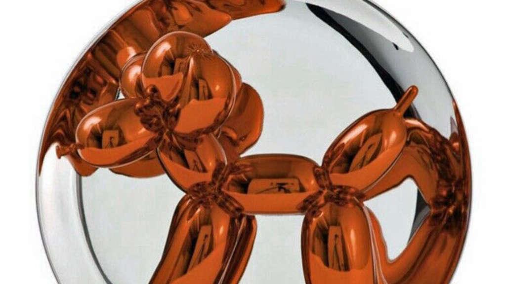 Jeff-Koons-Skulptur aus Galerie gestohlen