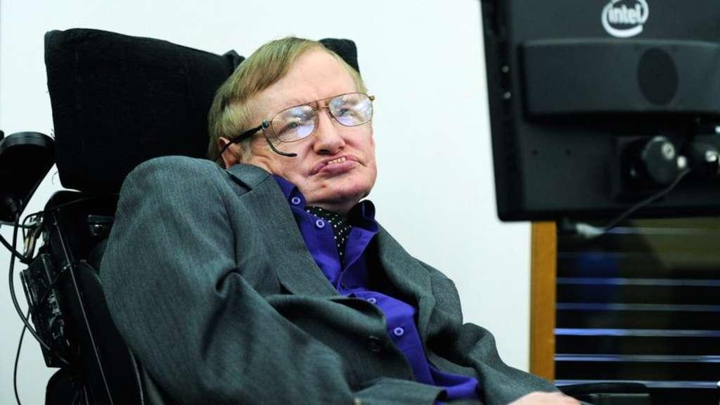 Stephen Hawking Themenseite