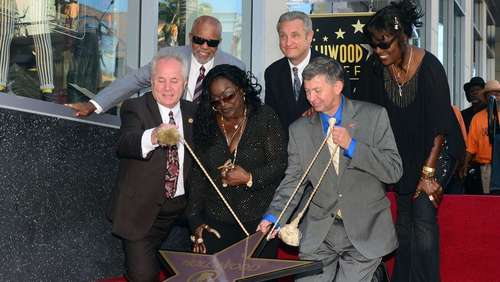 Barry White: Stern auf Walk of Fame