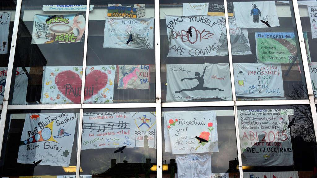 Abitur Plakate