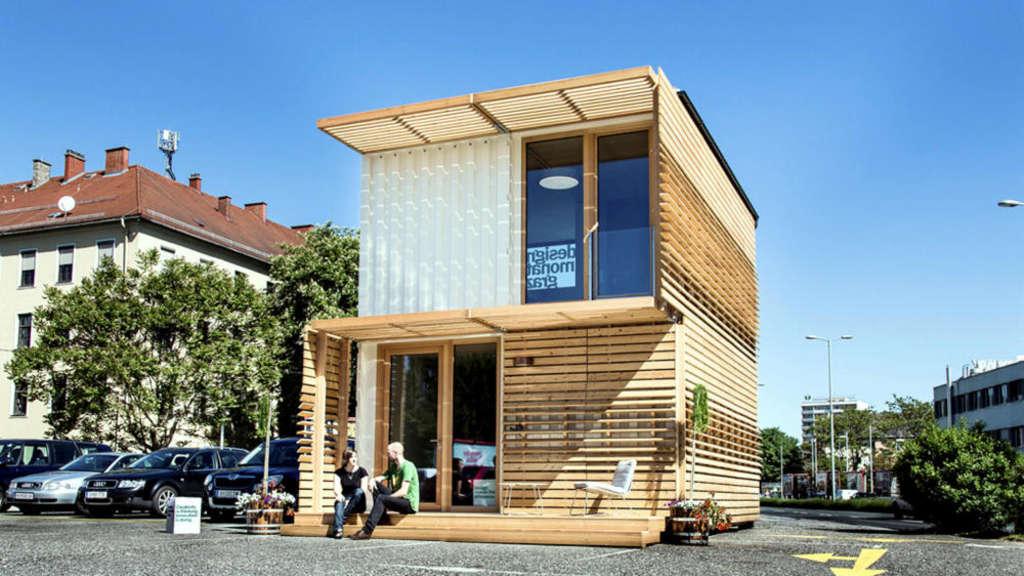 Neue Flüchtlingsheime aus Holz | Frankfurt