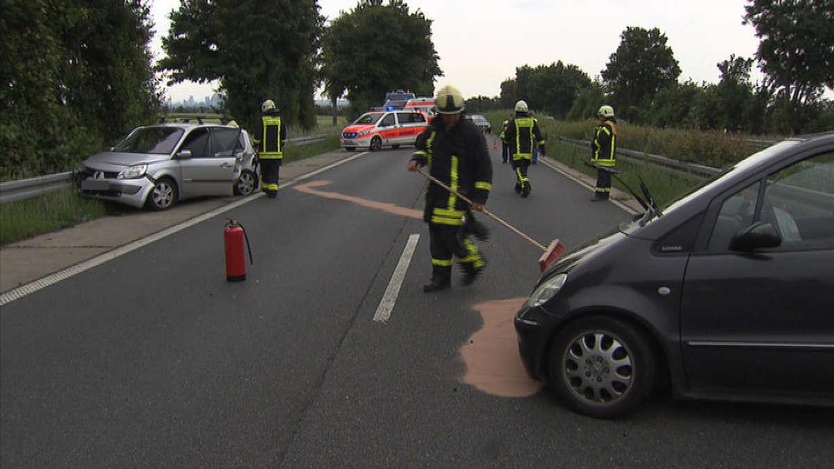Unfall B8 Limburg