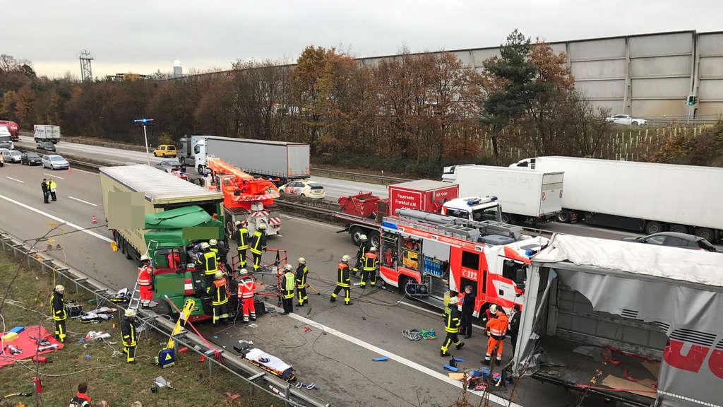 Unfall A3 Flughafen