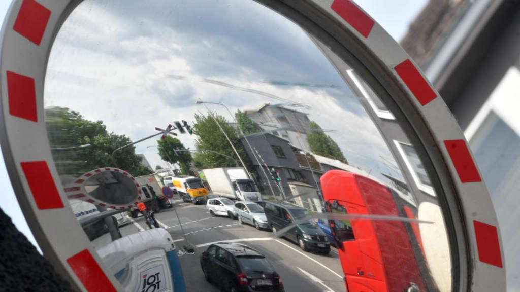 Baustellen Auf Der Hanauer Landstraße Nichts Geht Mehr In