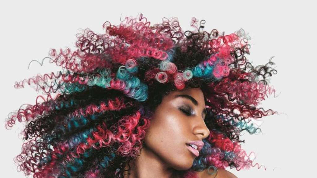 Bunte Haare Der Neue Hit Aus Dem Friseursalon Wohnen