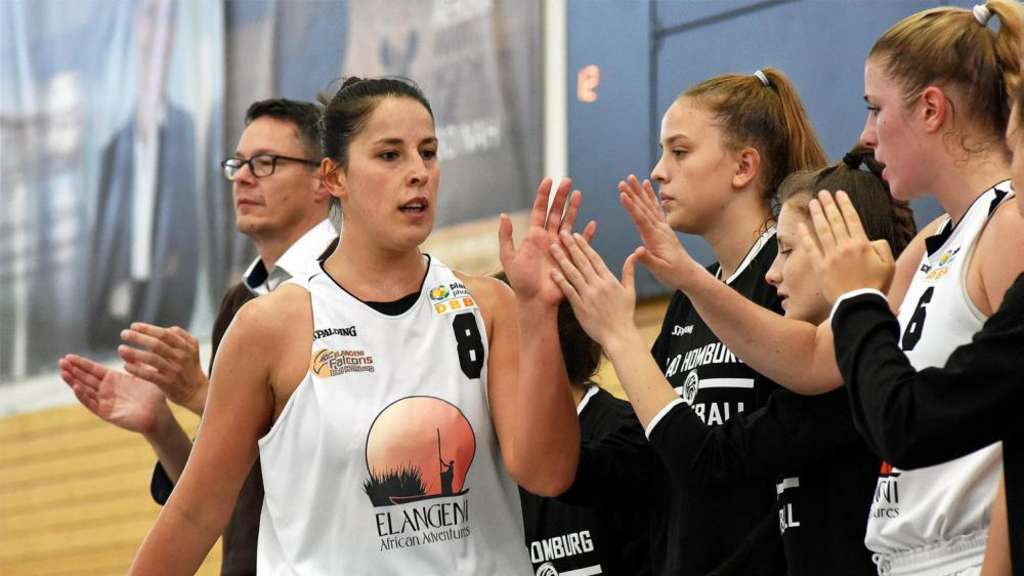 Gut gemacht, Gergana Georgieva (Elangeni Falcons Bad Homburg). Beim All-Star-Game in Freak City Bamberg war sie die Topscorerin.