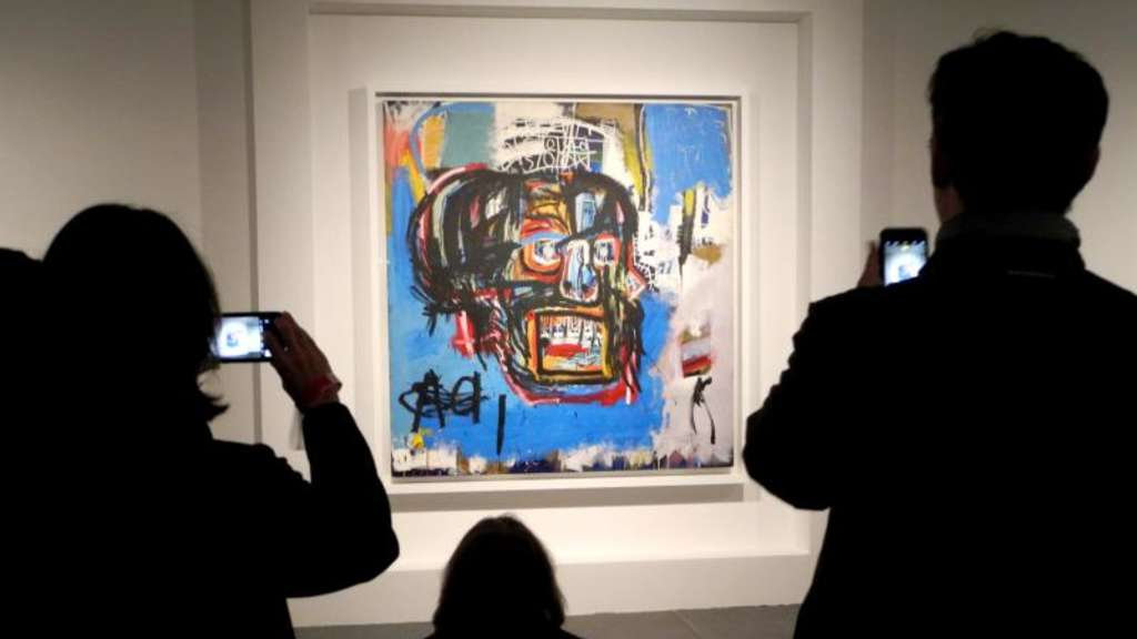 "Basquiat-Gemälde ""Untitled"" in New York"