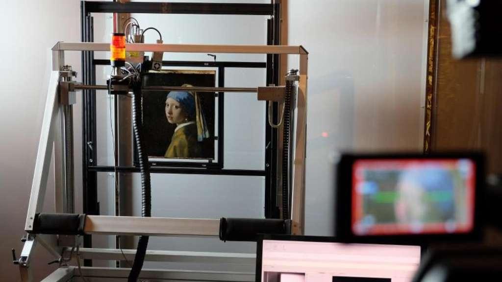 Vermeers Mädchen Mit Dem Perlenohrring Im Scanner Kultur