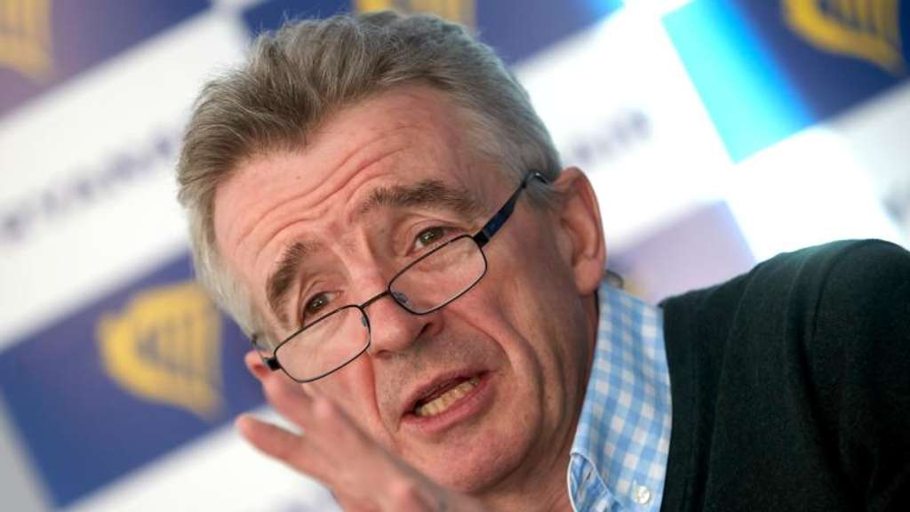 Michael O&#39Leary, Chef des irischen Billigfluges Ryanair.