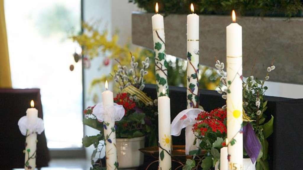 Kerzen Zur Kommunion Lila Und Flieder Sind Trendfarben Wohnen