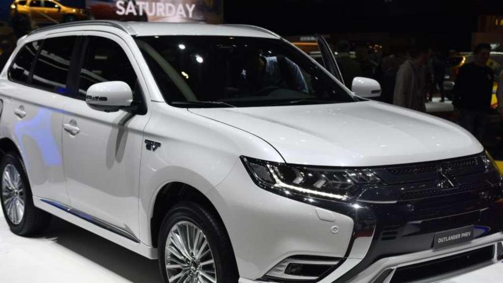 update für den mitsubishi plug-in-hybrid outlander | auto