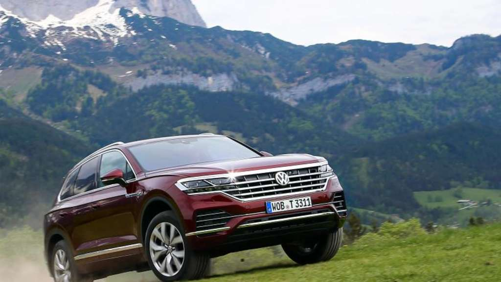 VW Touareg im Test: Pampa, Pampers, Premium