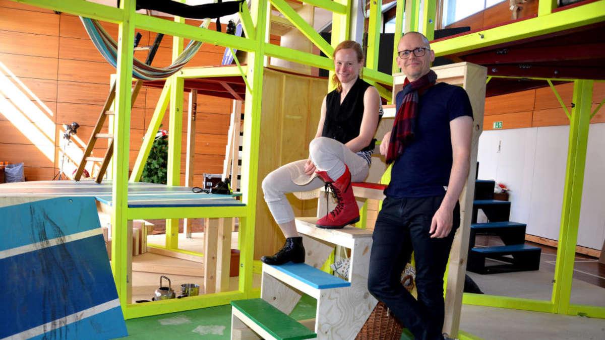 Klettergerüst Zum Stecken : Villa kunterbunt für die quellenstadt bad vilbel