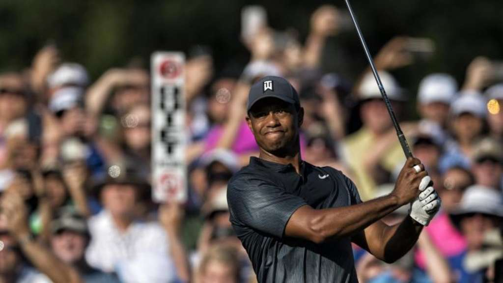 Superstar der 118. US Open: Tiger Woods.