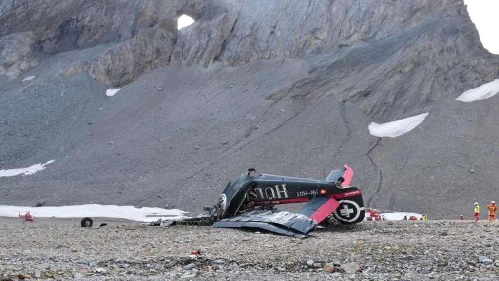 Ursachenforschung Nach Flugzeugabsturz In Der Schweiz Boulevard