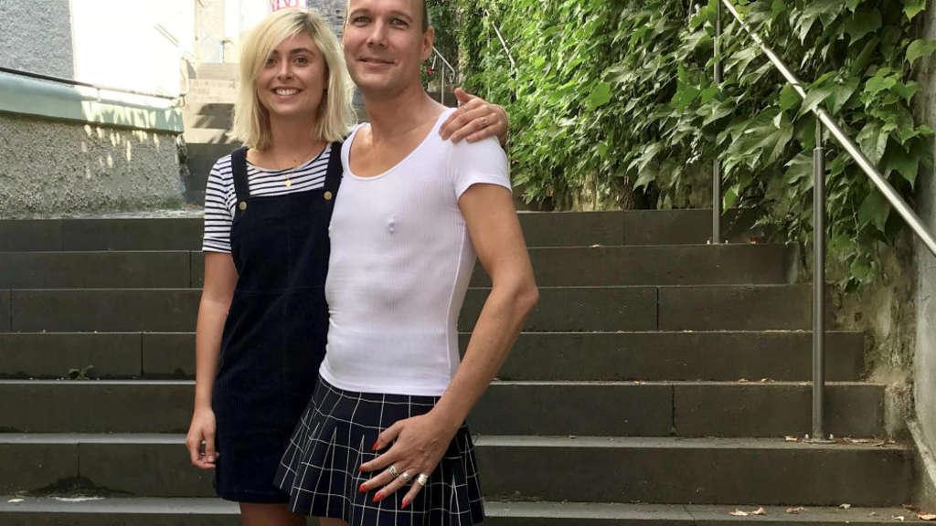 Warum Matthias Röhricht jeden Tag Frauenkleider trägt