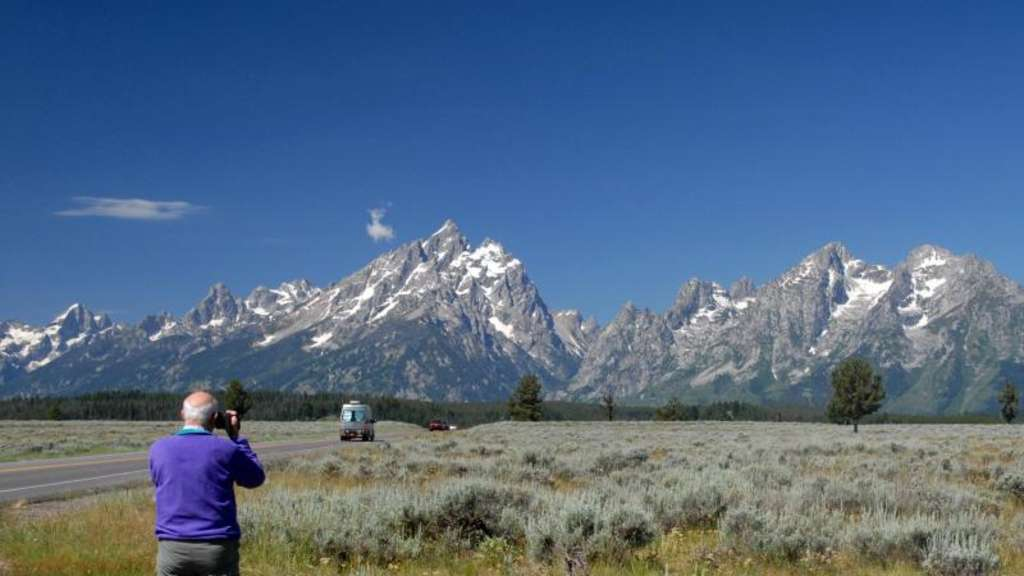 Tagestour in den Grand Teton-Nationalpark