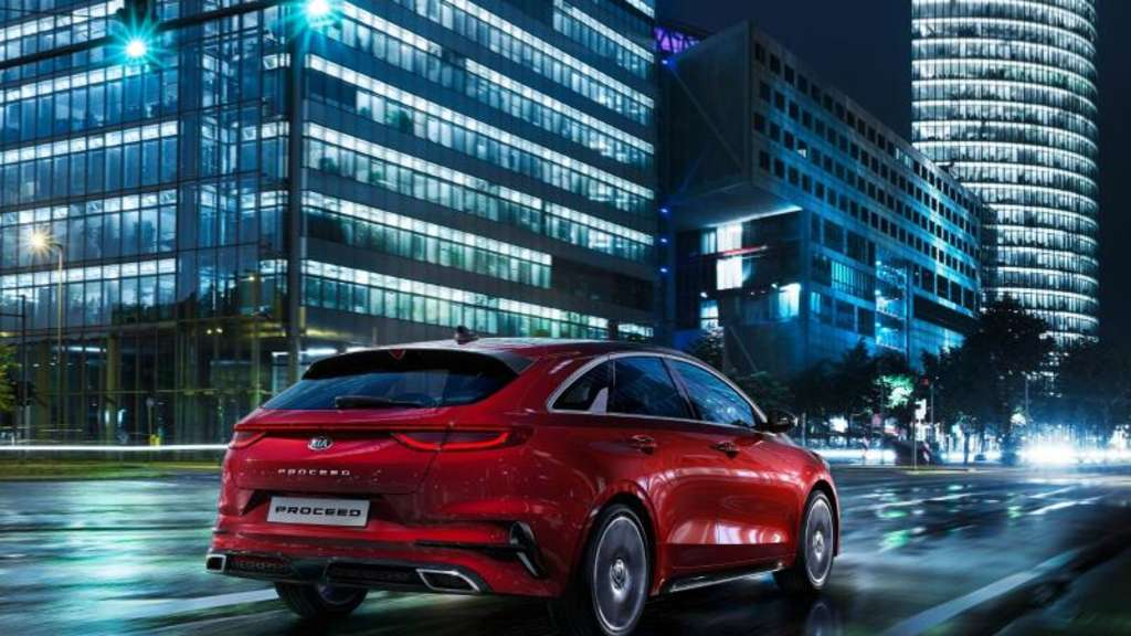 Geht Anfang 2019 in den Handel: Der Shooting Brake Kia ProCeed.