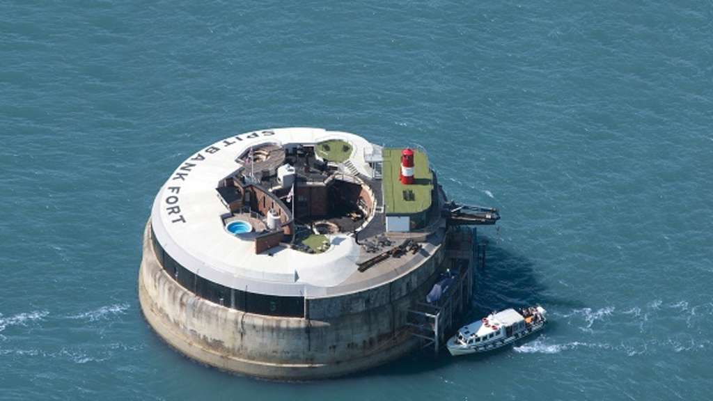 Spitbank Fort, Portsmouth, UK