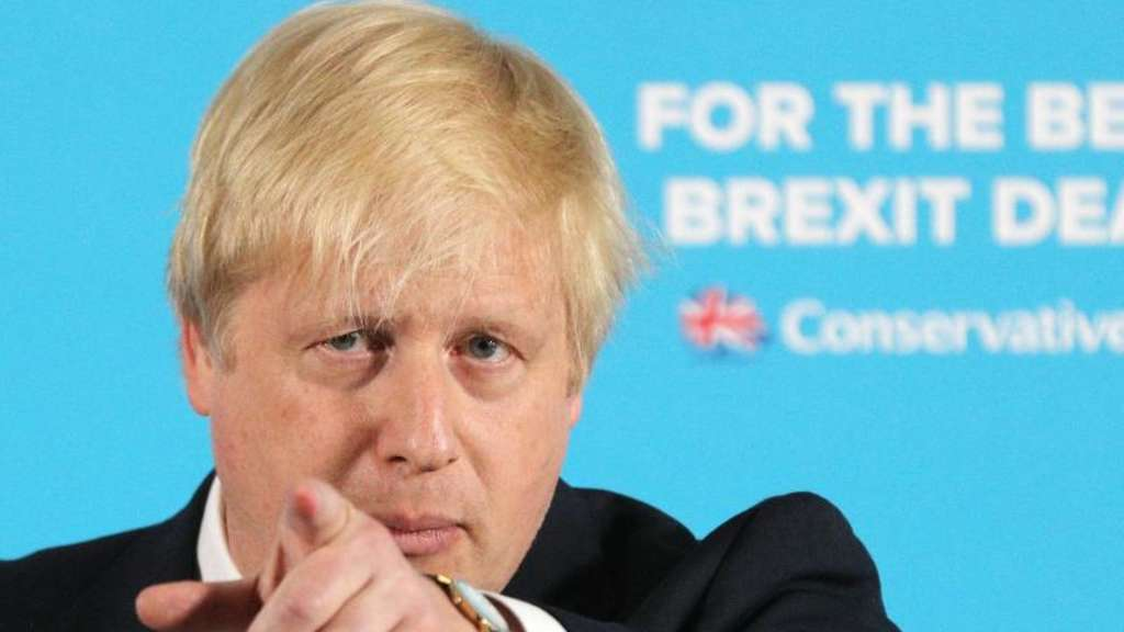 Boris Johnson gilt als Widersacher von Premierministerin Theresa May.
