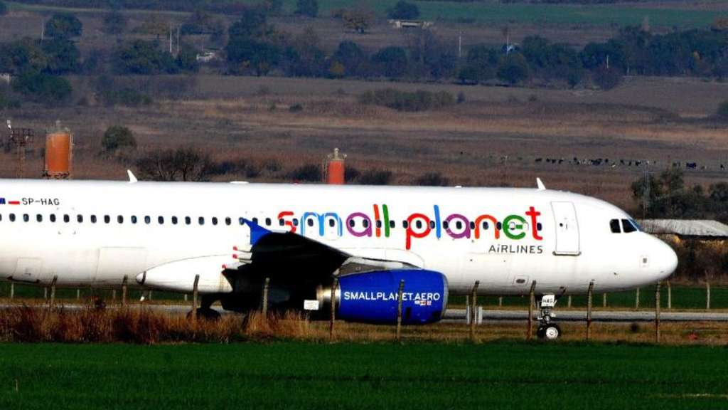 Auch die Small Planet Airlines musste Insolvenz anmelden.