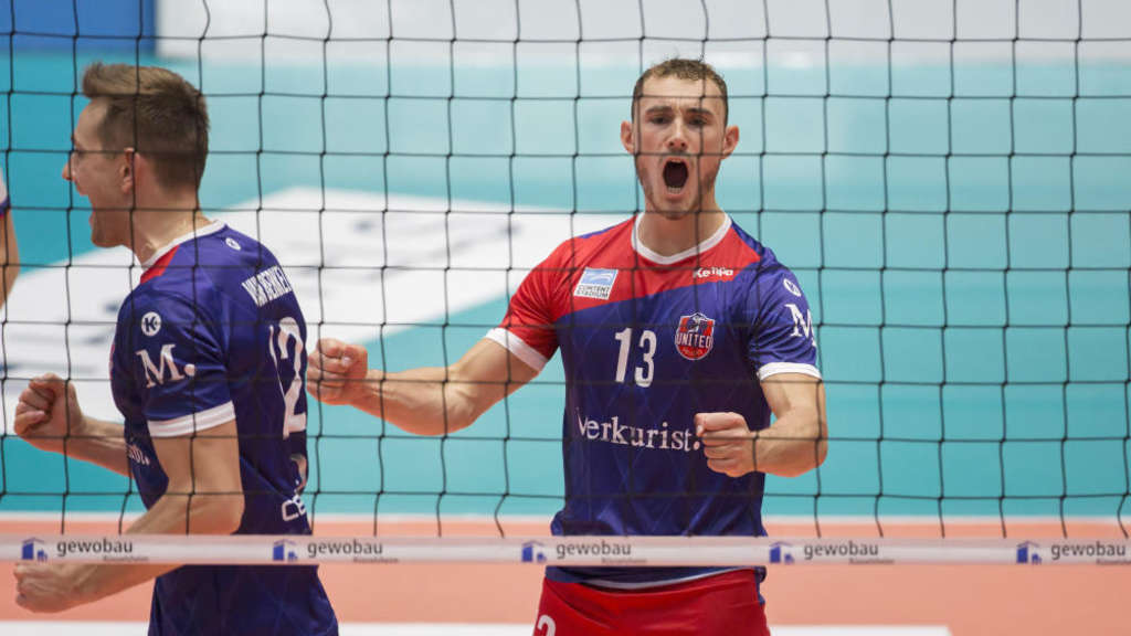 Frankfurts Volleyballer in der Champions League weiter