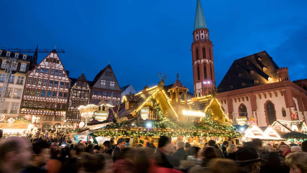 Goetheturm Frankfurt Weihnachtsmarkt.Frankfurter Weihnachtsmarkte Auf Einen Blick Rhein Main