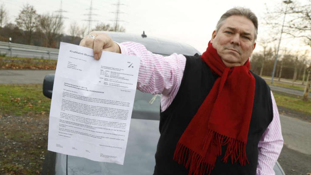 Kraftfahrt Bundesamt Verschickt Werbebriefe Für Die Autoindustrie An