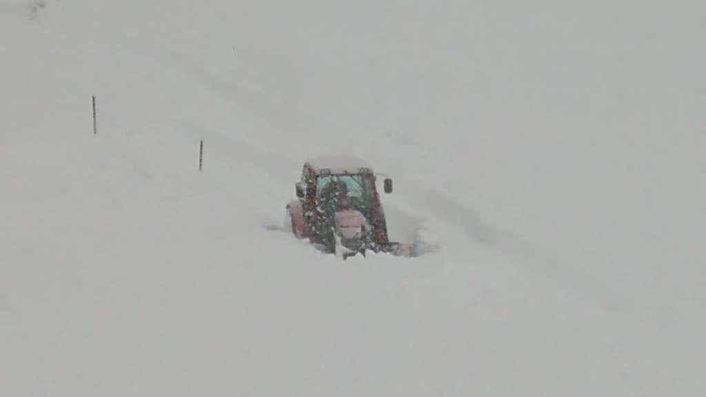 Zillertal Schneechaos
