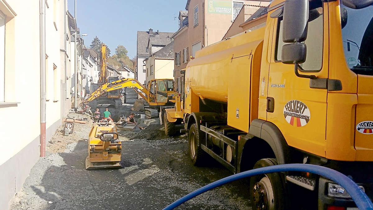 Baustellen A3 Hessen
