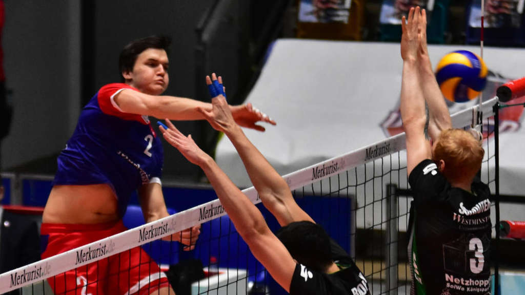 Volleyball VBL 1. Bundesliga, United Volleys Frankfurt - Netzhoppers SolWo Königspark KW