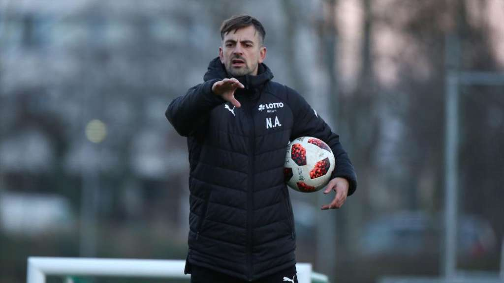Optimistisch: FFC-Coach Niko Arnautis.