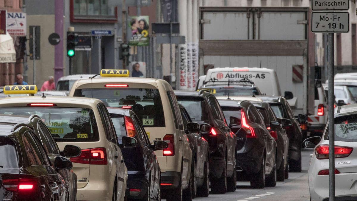 Verkehrslage Frankfurt