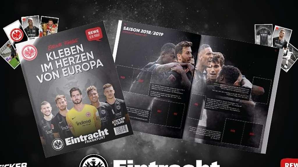 Eintracht Frankfurt Sge Rewe Stickeralbum Supermarkt
