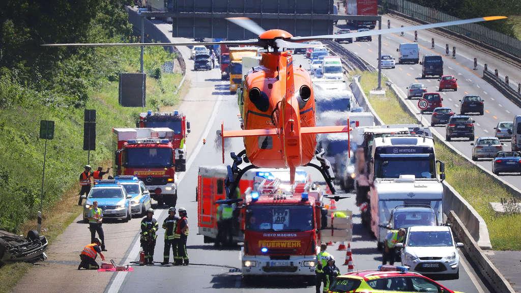 Unfall A3 Wiesbadener Kreuz Heute