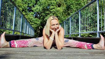 Bad Vilbel Hessen Das Leben Muss K Ein Spagat Sein Wendy Muller Hat Yoga Zu Ihrem Beruf Gemacht Bad Vilbel