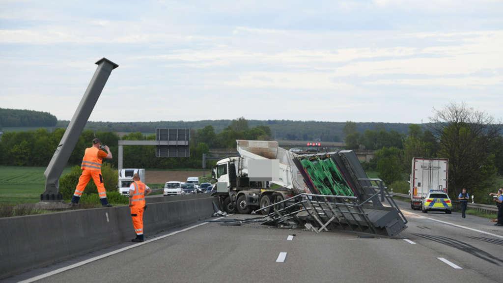 Unfall A5 Polizei