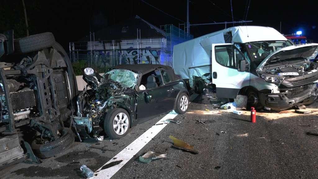 Unfall A5 Weiterstadt