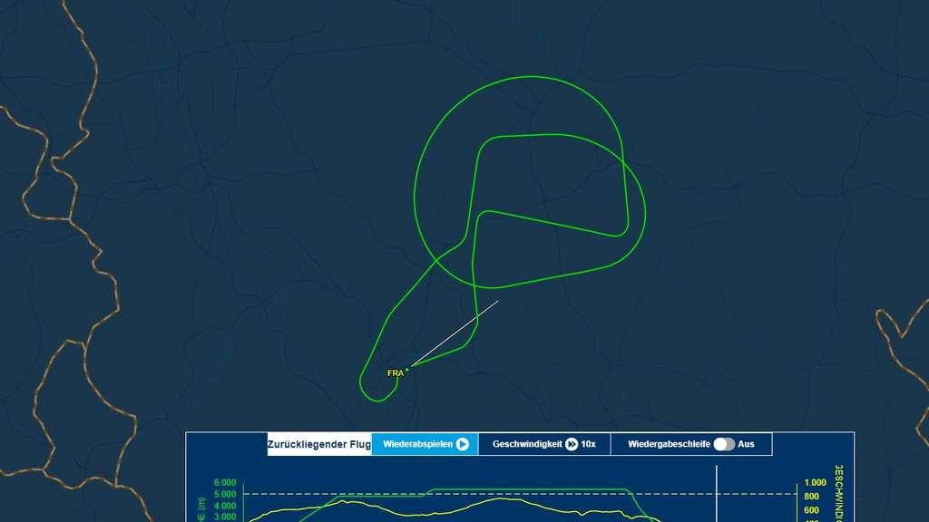 Flugrouten Karte Weltweit Lufthansa.Boeing 747 Flughafen Frankfurt Lufthansa Flug Lh 732 Muss