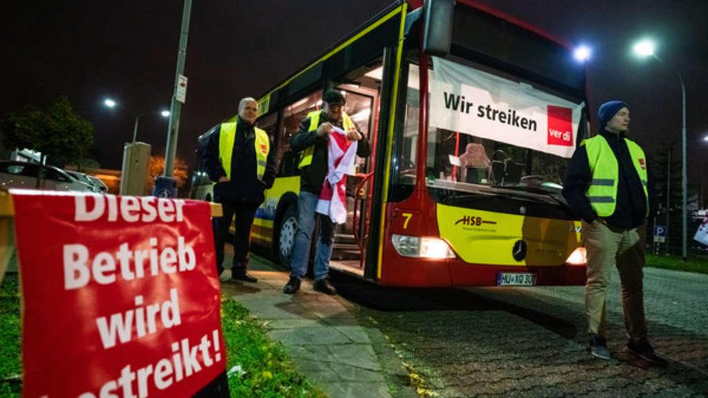 busfahrerstreik hessen