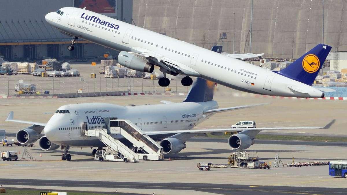 Flughafen Frankfurt Lufthansa