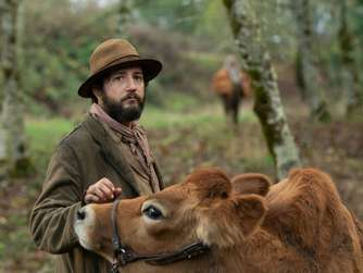 "John Magaro in Kelly Reichardts ""First Cow""."