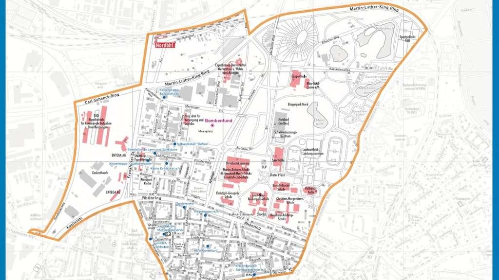 Bombenentschärfung Darmstadt