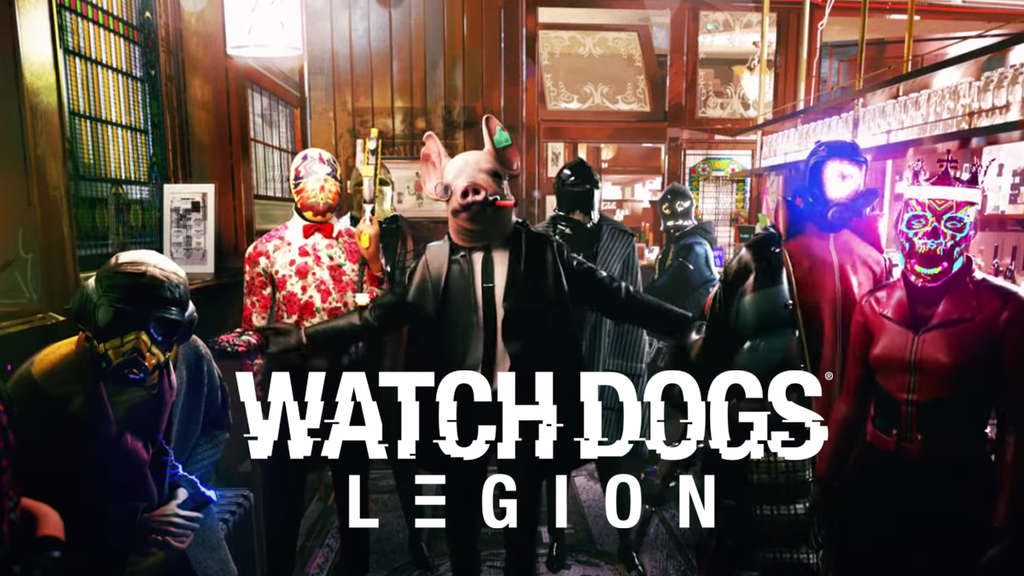 Watch Dogs Legion Widerstand Logo Pub
