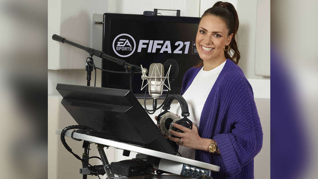 FIFA 21: Neues Kommentatoren-Team um Neuzugang Esther Sedlaczek im Interview