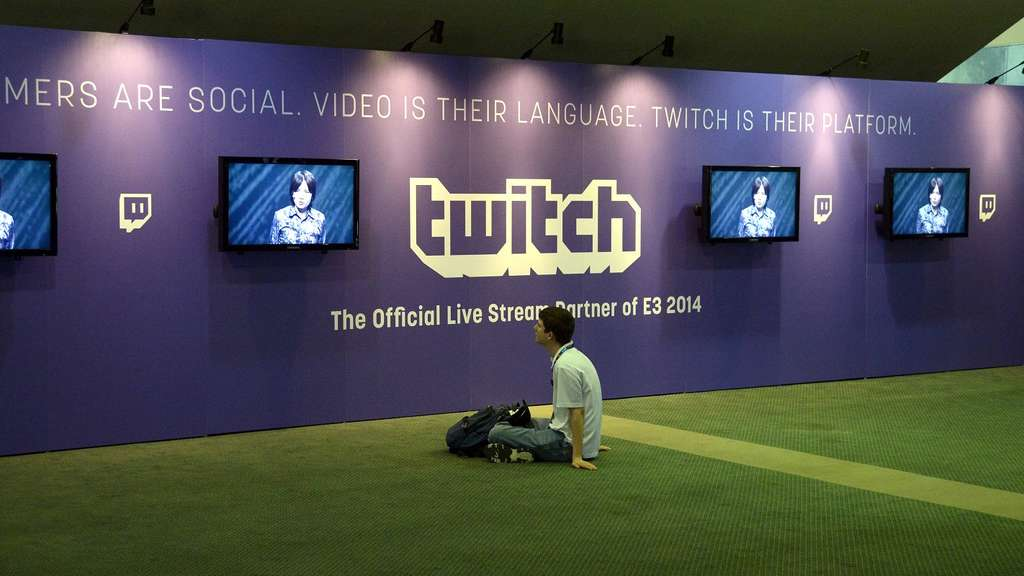 Twitch Werbung an TV-Screens