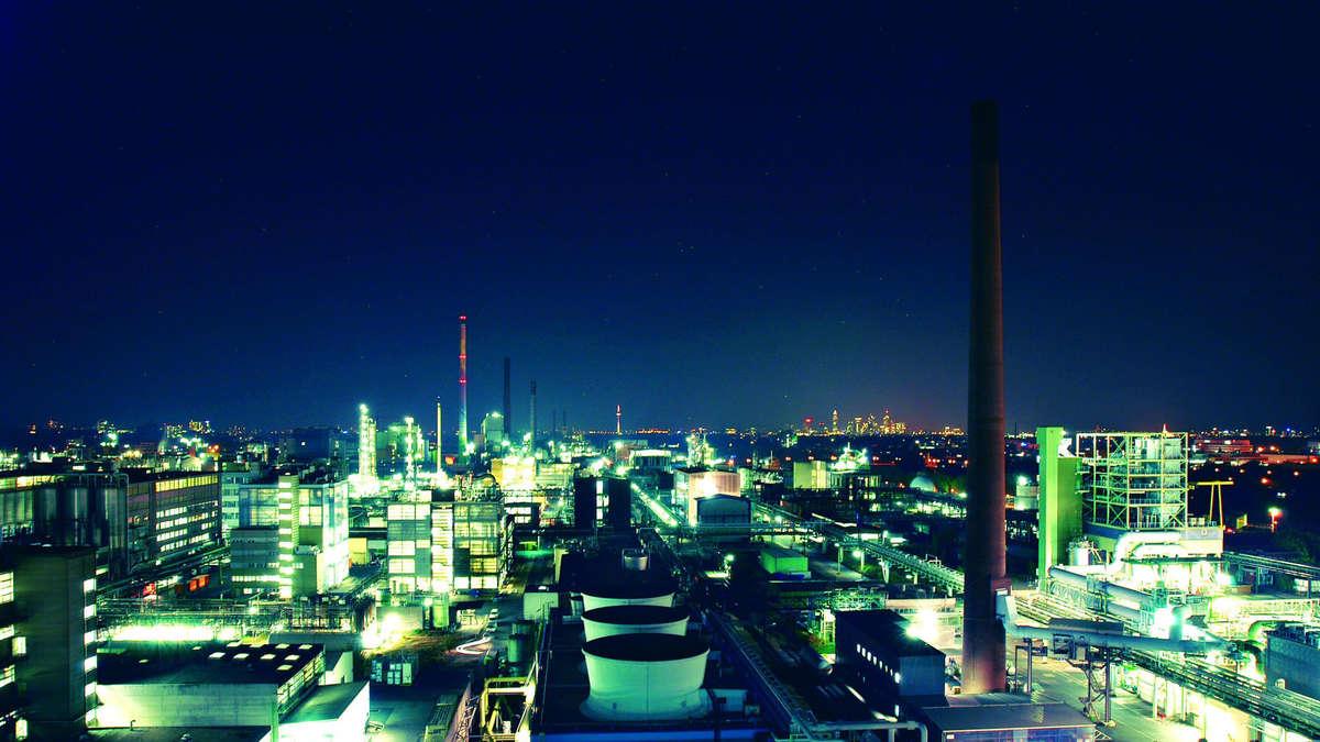 Alarm Industriepark Höchst