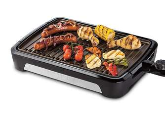George Foreman Smokeless BBQ Grill